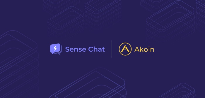 akoin and sense chat