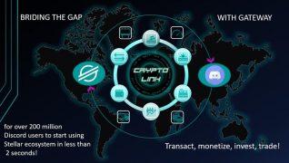 crypto link discord bot stellar lumens